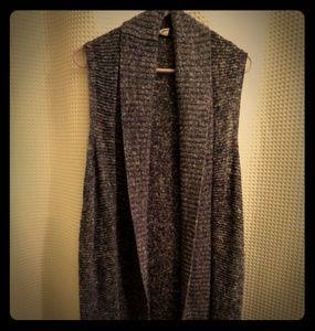 Gap long sweater vest